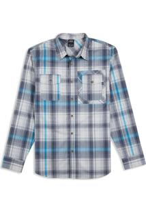 Camisa O-Plaid Ls Woven. Oakley