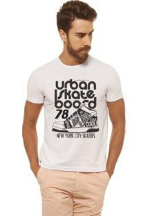 Camiseta Joss - Urban Skate - Masculina - Masculino-Branco