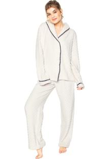 Pijama Any Any Soft Nara Branco