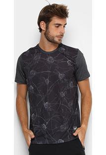 Camiseta Okdok Roses Masculina - Masculino