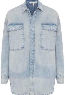 Camisa Feminina Nina - Azul