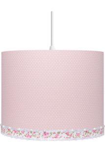 Luminária Carambola Chloe Teto Rosa