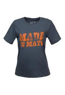 Tshirt Estampada Made In Mato Cominho Multicolorido