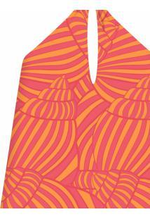 Blusa Frente Única Cinto Shell - Lez A Lez