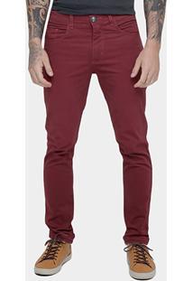 Calça Skinny Preston Color Masculina - Masculino