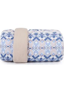 Edredom Casal Altenburg Home Collection 180 Fios Cuban Azul
