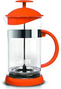 Cafeteira French Press 1 Litro Laranja Basic Bialetti