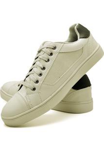 Sapatênis Sapato Casual Juilli Com Cadarço Masculino 04L Branco