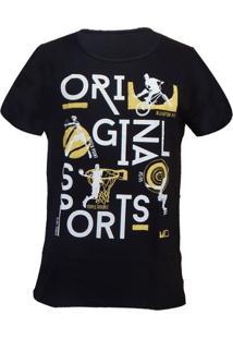 Camiseta Mormaii Bikery - Masculino-Preto