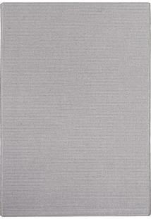 Tapete Cotton Texture Cinza 2,40X3,40 São Carlos Lançamento