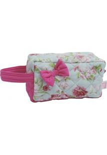Necessaire Ateliê Baby & Cia Florido Pink