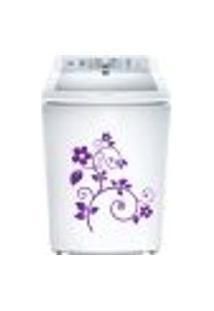 Adesivo Para Maquina De Lavar Floral
