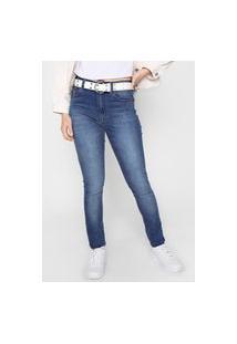 Calça Jeans John John Skinny Long Fares Azul