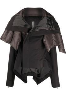 Rick Owens Oversize Hooded Jacket - Verde