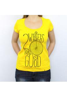 Two Wheels - Camiseta Clássica Feminina