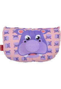 Travesseiros Anatômico Fisher Price Estampa Hipopótamo