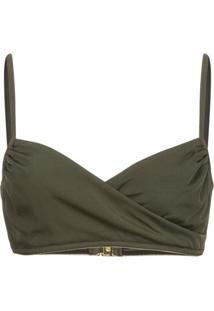 Morgan Lane Daisy Bikini Top - Verde