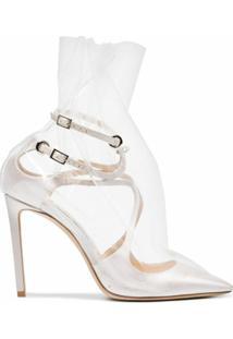 Off-White Sapato 'Claire 100' - Branco