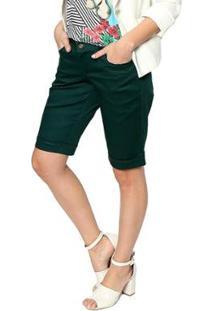 Bermuda Energia Fashion Feminina - Feminino-Verde