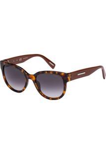 Óculos De Sol Victor Hugo Sh1761 0922/53 Tartaruga/Marrom