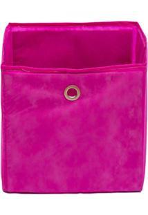 Caixa Organizadora Infantil Dobrável - Pink