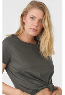 Camiseta Hering Lisa Verde