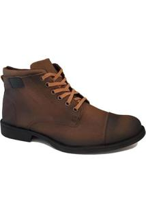 Bota Coturno Filtren District Casual Masculina - Masculino-Cafe