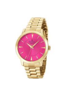 Relógio Analógico Champion Feminino - Cn25770B Dourado