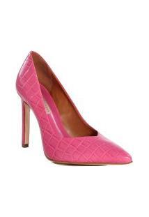Sapato Scarpin Feminino Jorge Bischoff Em Couro