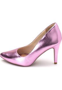 Sapato Scarpin Salto Alto Gisela Costa Rosê - Kanui