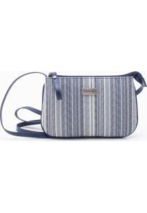 Bolsa Shoulder Bag Listrada Natural - P