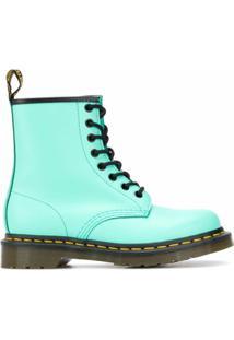 Dr. Martens Ankle Boot Com Cadarço - Verde