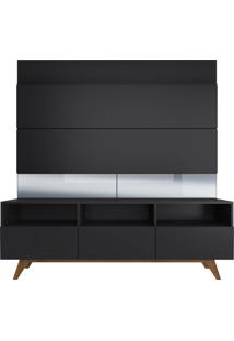Estante Home Para Tv 50'' Dance - Preto