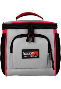 Bolsa Térmica M Fuel Edition Edição Premium Silver Charge - Unissex-Vermelho