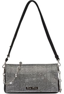 Miu Miu Clutch Starlight - Preto