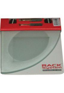 Prateleira De Vidro 15 Jateado Rack System