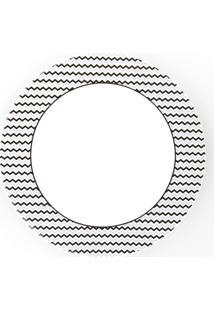 Conjunto De Pratos Rasos Porcelana Schmidt 06 Peças - Dec. Mila