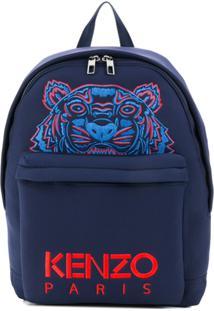 Kenzo Mochila Tiger - Azul