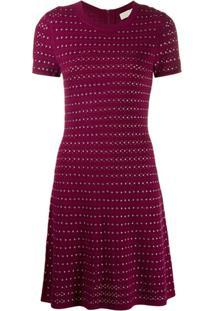 Michael Michael Kors Flare Mini Dress - Rosa