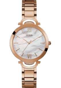 Relógio Guess Feminino Aço Rosé - W1090L2