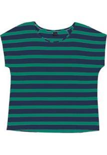 Blusa Plus Size Rovitex Premium - Feminino-Verde Escuro