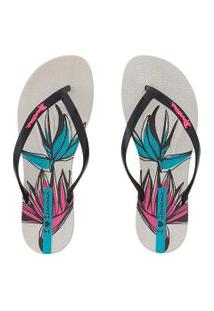 Chinelo Ipanema Wave Natural Bege