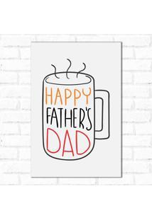 Placa Decorativa Father Coffe