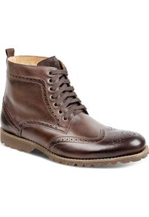 Bota Dress Boot Masculina Sandro Moscoloni Donatello Marrom Escuro