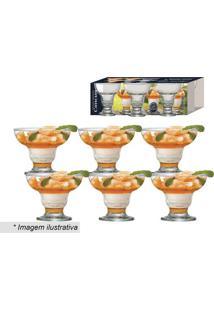 Jogo De Taças Cancun Para Sobremesa- Incolor- 6Pçs