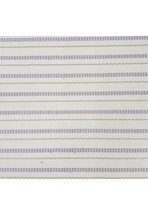 Kit 4 Rolos De Papel De Parede Adesivo Listrinhas Roxo E Verde Fwb - Roxo - Dafiti