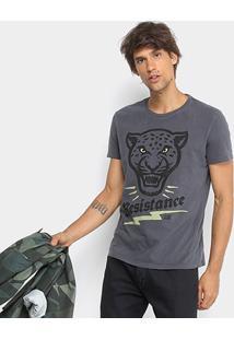 Camiseta Ellus 2Nd Floor Estampada Resistence Masculina - Masculino