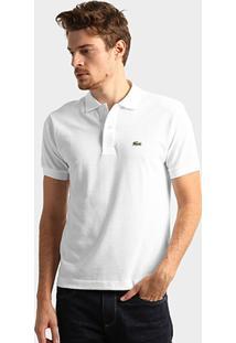 Camisa Polo Lacoste Original Fit Masculina - Masculino
