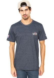 Camiseta New Era Bala Cleveland Cavaliers Azul
