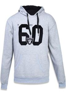 Moletom Canguru Fechado Oakland Raiders Nfl New Era Masculino - Masculino